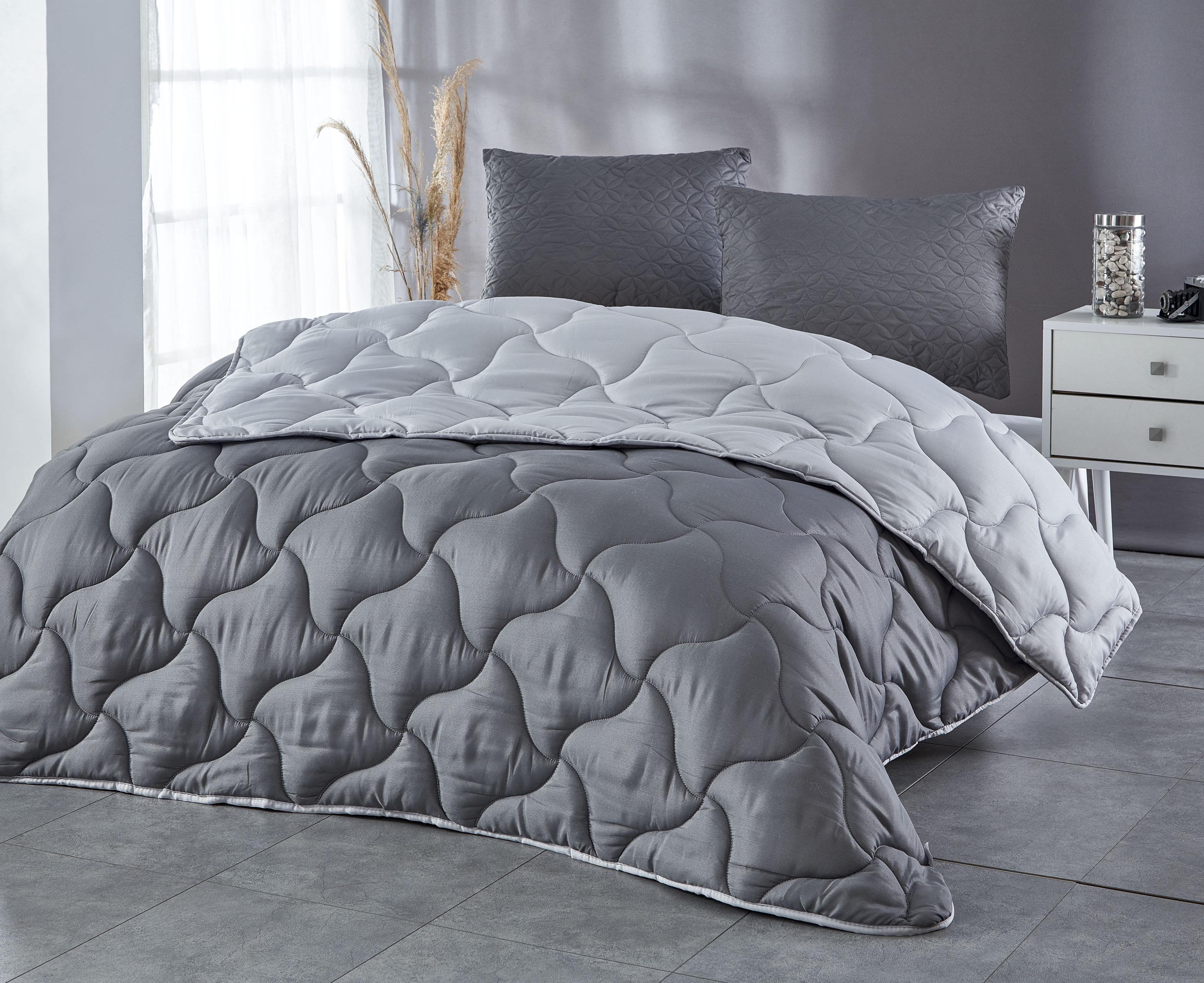 Zirve Home Renkli Tek Kişilik Microfiber Yorgan +1 Yastık